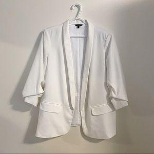 REITMANS White 3/4 sleeve blazer